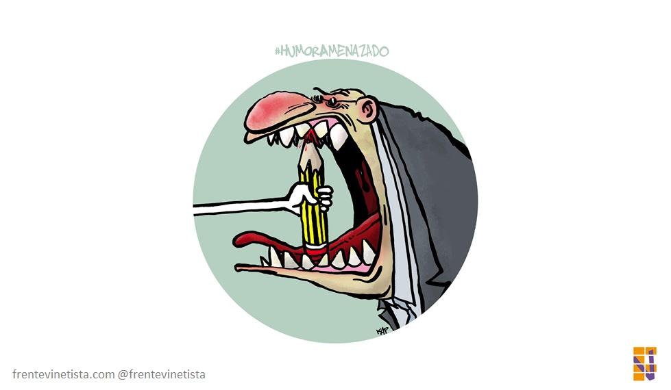 """El Manifiesto """"Humor Amenazado"""" fue firmado por más de 100 humoristas gráficos"""