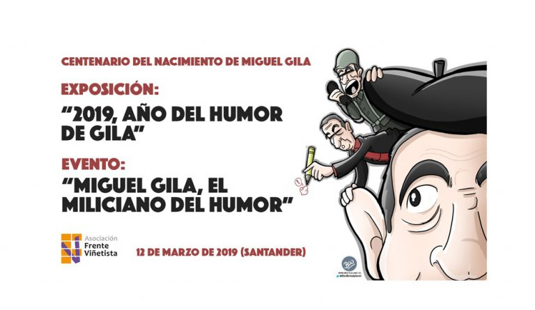 """Vídeo que recoge la exposición y evento """"Miguel Gila, el miliciano del humor"""""""