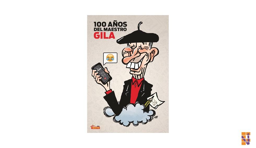 Gila, en el centenario de su nacimiento, ocupa el póster central en la revista El Jueves