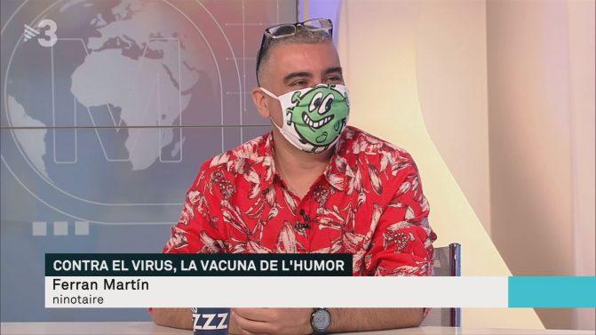 Ferran Martín entrevistado en TV3
