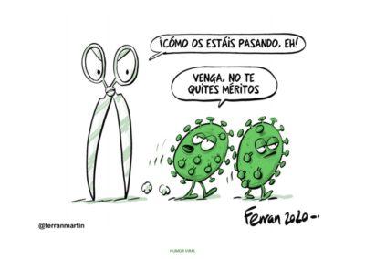 """Viñeta del libro """"Humor Viral"""" de Ferran Martín"""