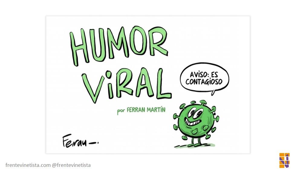 """Libro de Ferran Martín: """"Humor viral"""" – Relato humorístico de una pandemia ilustrada"""
