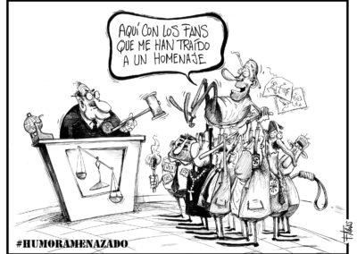 Florencio Arias - Humor Amenazado