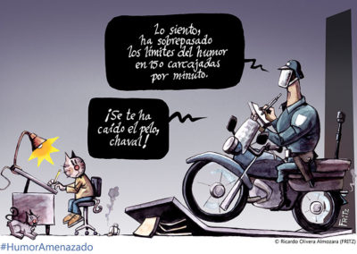 Fritz - Humor Amenazado