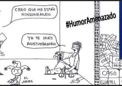 Javier Casasayas - Humor Amenazado