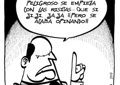 Manuel S de Frutos - Humor Amenazado