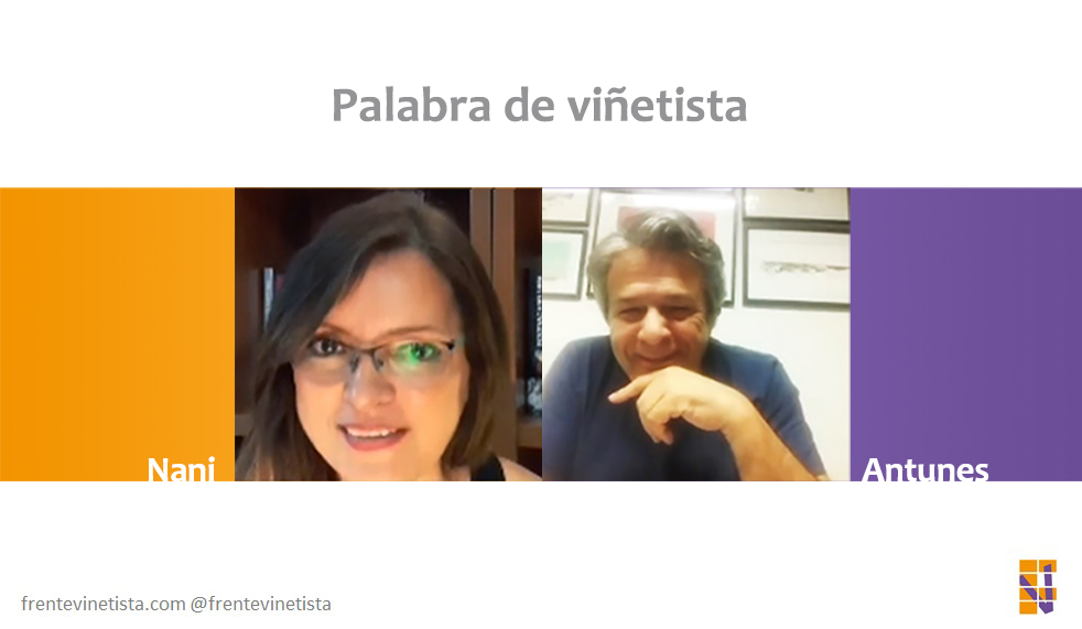 Palabra de viñetista: Nani charla con Antonio Moreira Antunes