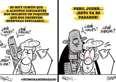 Raúl Salazar - Humor Amenazado