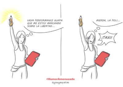 Sandra Rey - Humor Amenazado