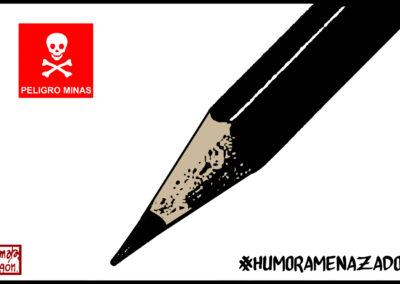 Viñeta de Malagón para el manifiesto #HumorAmenazado
