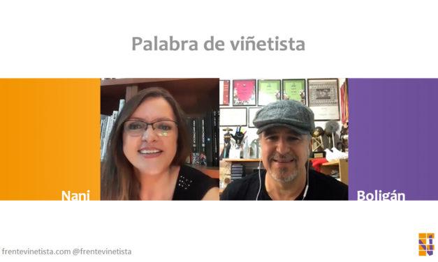 Palabra de viñetista: Nani charla con el caricaturista cubano Ángel Boligán
