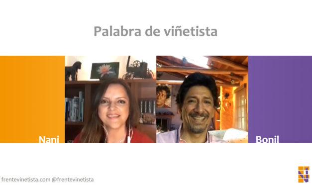 """Palabra de viñetista: Nani charla con el humorista gráfico ecuatoriano Bonil a quien le siguen y """"persiguen"""""""