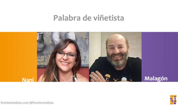 Palabra de viñetista: Nani charla con el humorista gráfico Malagón