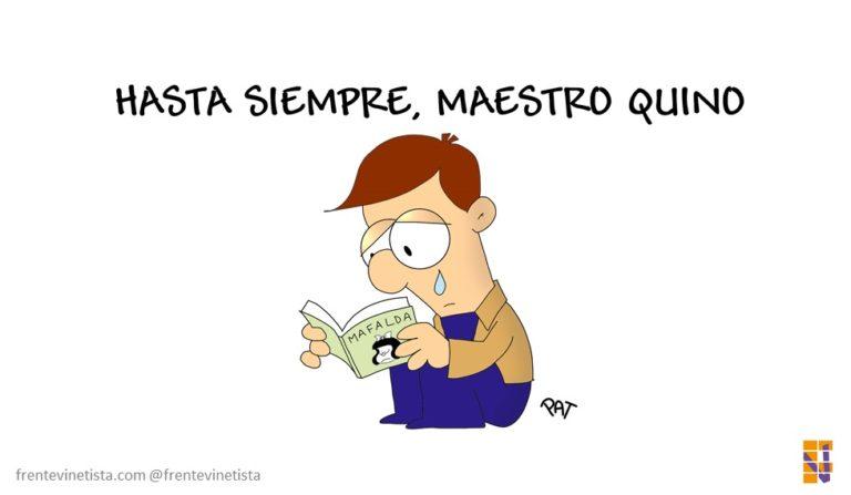 «Gracias por tanto, maestro Quino» Viñeta y artículo de Pat